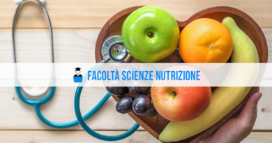 Facoltà Scienze Nutrizione