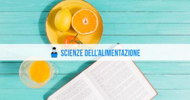 Scienze alimentazione