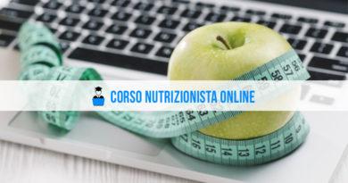Corso Nutrizionista Online
