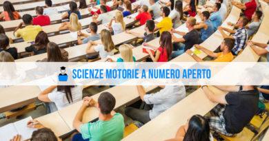 Scienze Motorie numero aperto