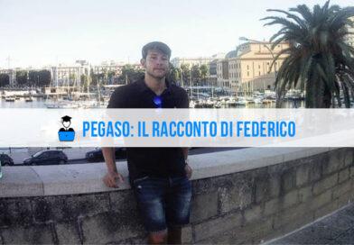 Opinioni Pegaso: l'intervista a Federico, studente di Management dello Sport