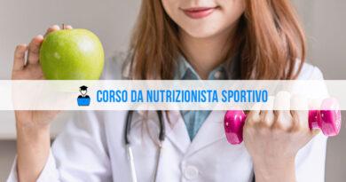 Corso nutrizionista sportivo