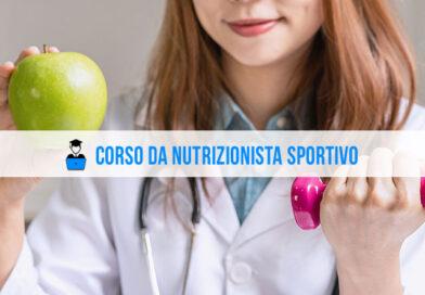Corso da nutrizionista sportivo: i percorsi di studio online