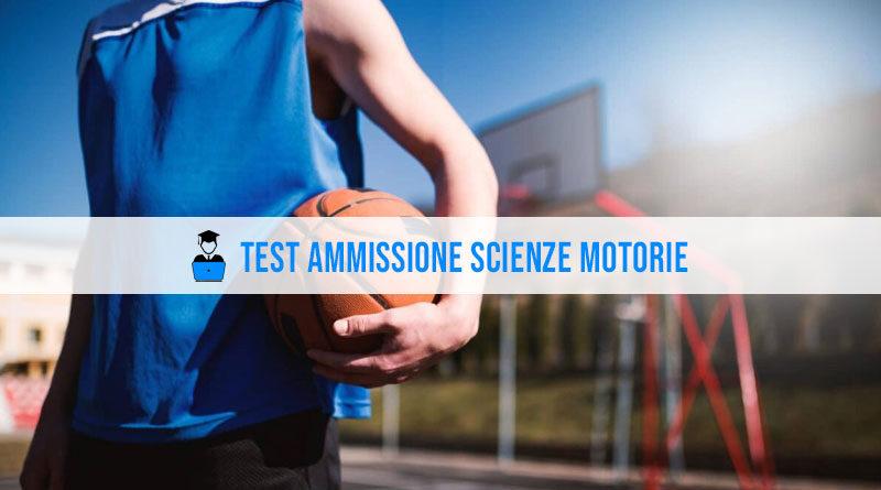 Test ammissione scienze motorie