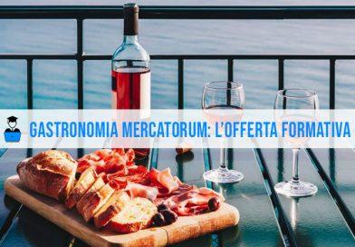 Facoltà Gastronomia Mercatorum: i corsi di laurea A.A. 2021/2022